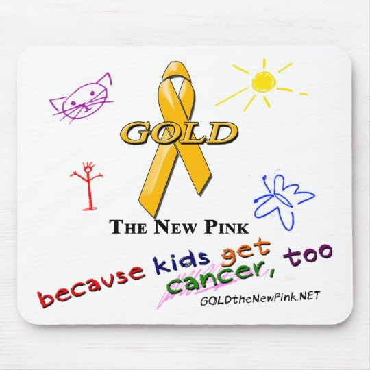 Kids Get Cancer, Too! Mouse Pad