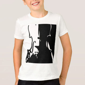 Kids Giant Violin Ringer T-shirt