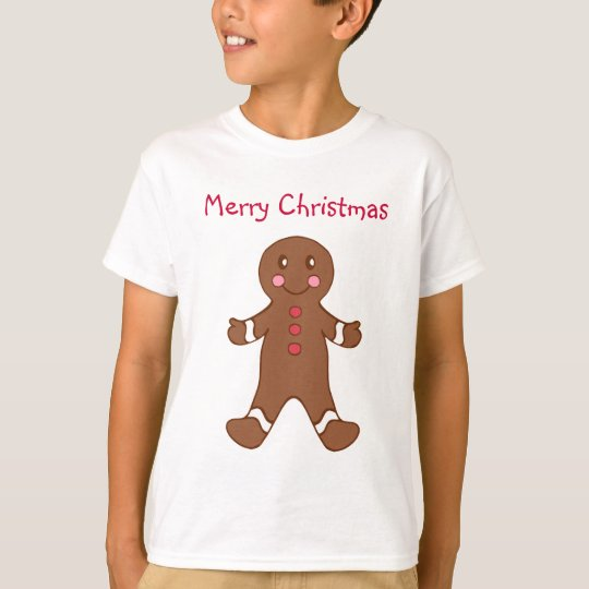Kid's Gingerbread T-Shirt