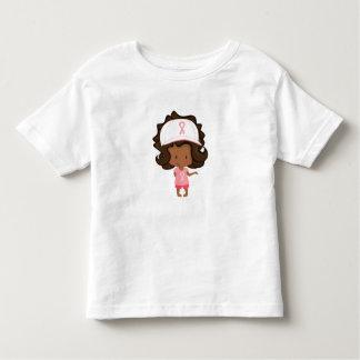 Kids/Girl Breast Cancer Walk/Awareness Shirt