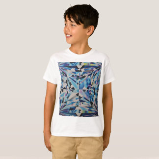 Kids Glass Diamond ' Hanes TAGLESS® T-Shirt
