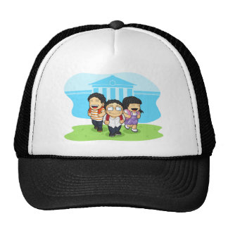 Kids Going Back to School Mesh Hat