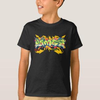 Kids Graffiti: James Streetwear T-Shirt