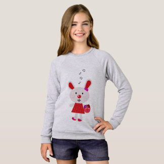 Kids grey t-shirt with Bunny