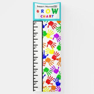 Kids Grow Chart Banner