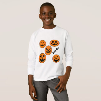 Kids Halloween Cartoon Long Sleeve Shirt