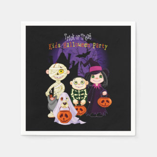 Kids Halloween Party Halloween Party Paper Napkins