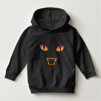 Kid's Halloween Shirt Costume Black Cat Sweatshirt