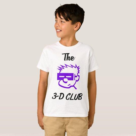 Kids Hanes 3-D Club Design T-Shirt