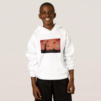 Kids' Hanes ComfortBlend® Hoodie, White