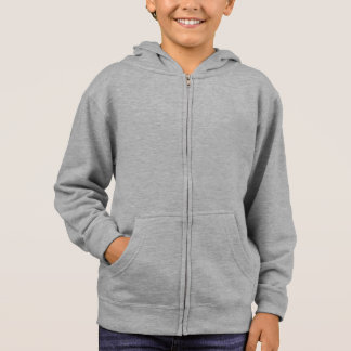 Kids' Hanes ComfortBlend® Zip Hoodie  Enjoy WHITE