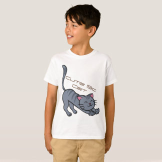 Kids' Hanes TAGLESS® T-Shirt Big CAT Cute