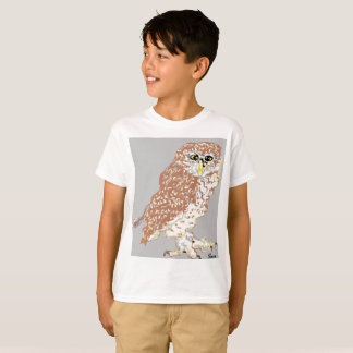 Kids' Hanes TAGLESS® T-Shirt Spotted Owl