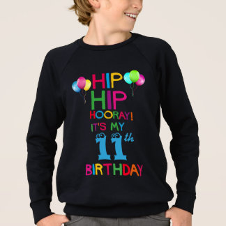 Kids Happy Birthday Party T Shirt - Add Age