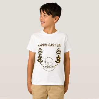 """Kids """"Happy Easter"""" T-Shirt"""
