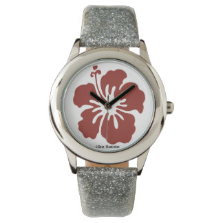 Kids Hibiscus Flower Watch