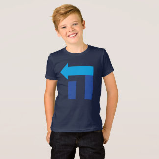 Kid's Hillary Hey T Shirt - Blue