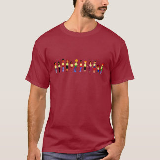 Kids Holding Hands for Men T-Shirt