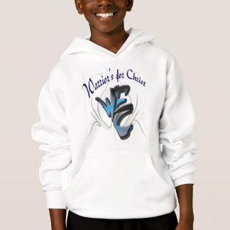 Kid's Hoodie. Warriors for Christ