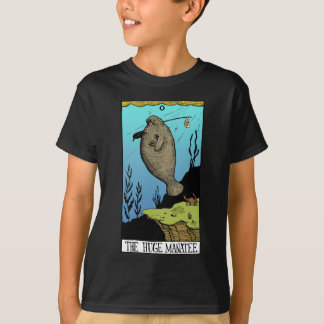 Kids' Huge Manatee dark T-shirt