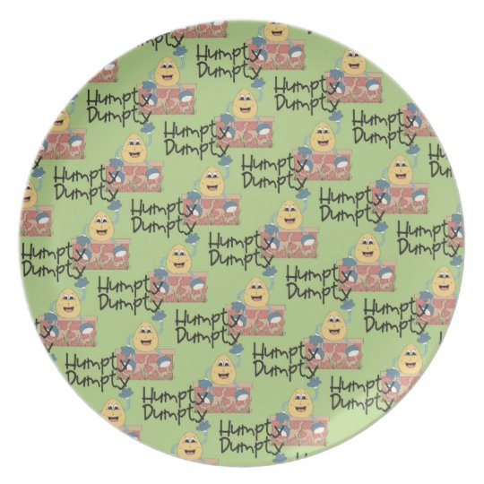 Kids Humpty Dumpty Decorative Plate