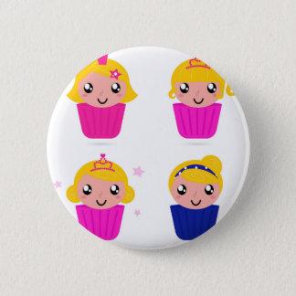 Kids in muffins 2 inch round button