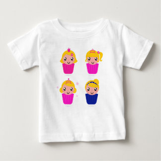 Kids in muffins baby T-Shirt