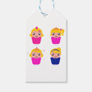 Kids in muffins gift tags