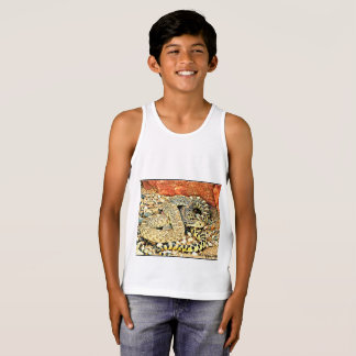 Kids Jersey Tank Top - Sonoran Gopher Snake