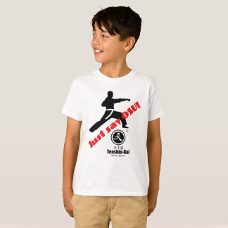 "Kid's ""Just Say Osu Tenshin"" Kai Karate T-Shirt"