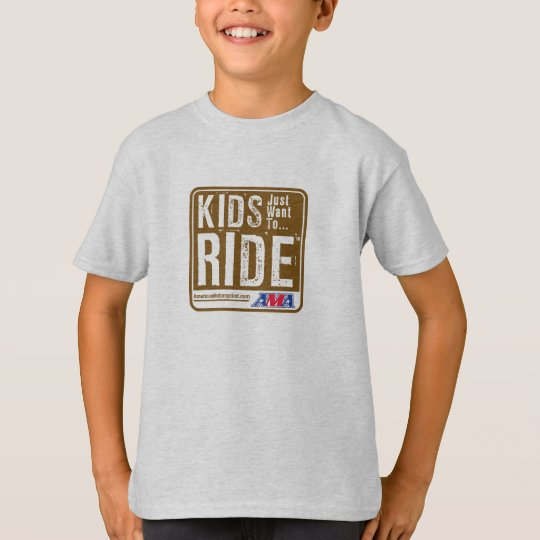 Kids Just Want To Ride Youth T-Shirts