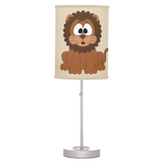 Kid's Lamp Cute Baby Lion Smiling