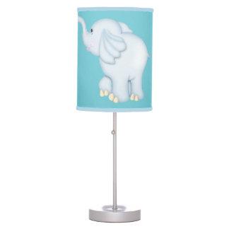 Kid's Lamp Cute Blue Baby Elephant