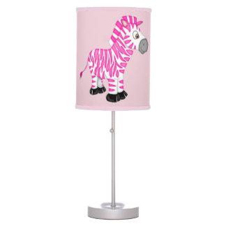 Kid's Lamp Cute Pink Baby Zebra