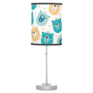 Kids Lamp - Funny Bears Design