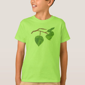 Kid's Leaf Tree Shirt Boy Girl