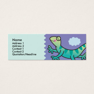 Kids Leaping Lizard Skinny Profile Cards