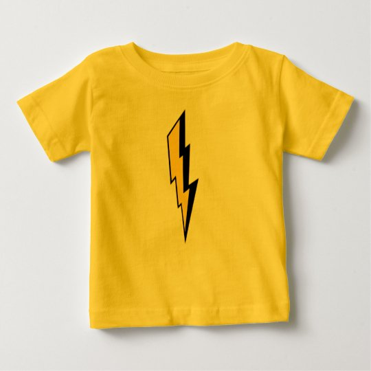 Kids Lightning Bolt Baby T-Shirt