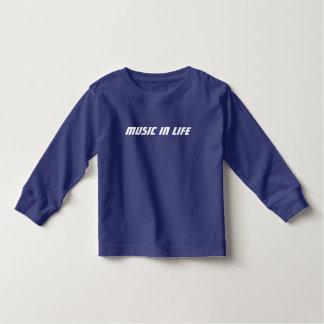 Kids Long T-Shirt - Music In Life Logo