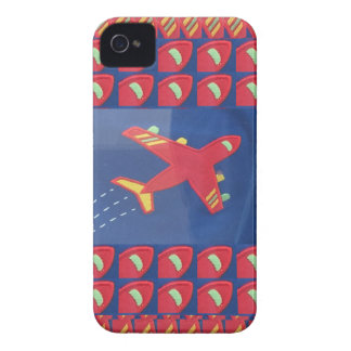 Kids Love Aeroplane Aircraft Flight Travel Holiday iPhone 4 Case-Mate Case