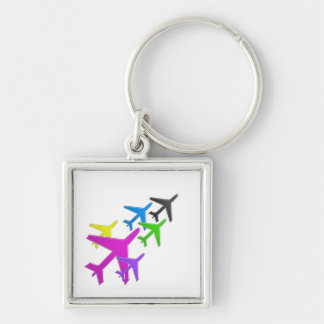 KIDS LOVE Aeroplane avion vol voyageurs GIFTS FUN Keychain