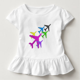 KIDS LOVE Aeroplane avion vol voyageurs GIFTS FUN Toddler T-shirt