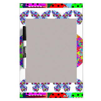KIDS love Butterflies - Happy Christmas n New Year Dry Erase Whiteboards