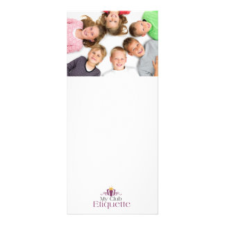 Kids Love Etiquette Rack Card