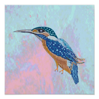 kIDS LOVE King Fisher Poster
