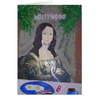 Kids Love Mona Lisa Greeting Card