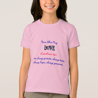 Kids Love t shirt