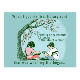 Kids Love To Read Postcard