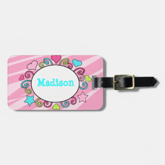 Kids Luggage Backpack Tag