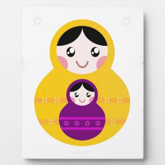 Kids matroshka Duo edition Plaque